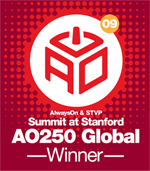 AO250 - AlwaysOn 250 Global Winner Badge