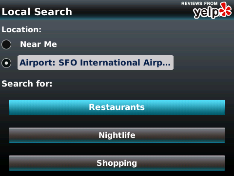 Yelp-search